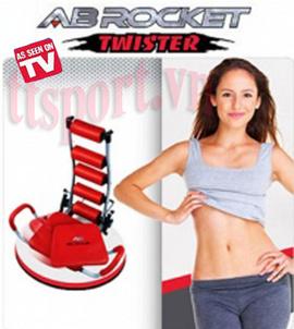 Máy tập cơ bụng AB Rocket Twister, máy tập thể dục, máy tập đa năng hiệu quả