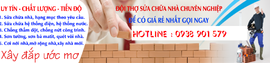 Home DV sửa chữa nhà (trọn gói )- Hotline: 0938 901 579