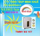 Bà Rịa-Vũng Tàu: bán máy huỷ giấy timmy BS 16T huỷ sợi + CD giá rẽ tại minh khuê CL1183662