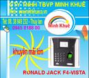 Bà Rịa-Vũng Tàu: bán Máy chấm công & kiểm soát cửa bằng vân tay rjk F4-VISTA Tính năng: CL1185603P8