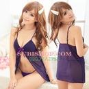 Tp. Hồ Chí Minh: DN536 - Đầm ngủ voan tím xẻ ngực CL1164499