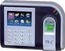 Bà Rịa-Vũng Tàu: bán Máy chấm công vân tay + thẻ cảm ứng rj T6 Tính năng: giá rẽ CL1185603P6