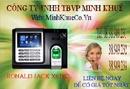 Bà Rịa-Vũng Tàu: bán Máy chấm công Vân Tay+thẻ thế hệ mới RONALD JACK 369 giá rẽ 38949231 CL1185512