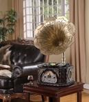 Tp. Hồ Chí Minh: Máy hát loa kèn nội thất trang trí phòng khách CL1165872