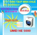 Bà Rịa-Vũng Tàu: bán máy chấm công umei ne 5000 gia rẽ tặng 300 thẻ +kệ CL1189901P10