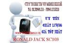 Bình Dương: minh khuê có bán Máy chấm công kiểm soát cửa bằng thẻ ronald jack SC-103 rẽ CL1189901P9
