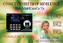 Bình Phước: tại long an bán Máy chấm công vân tay + thẻ cảm ứng ronald jack U-160C giá khuy CL1189578P5