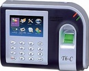 Bình Phước: tại long an bán Máy chấm công vân tay + thẻ cảm ứng Rj T6 giá rẽ CL1189067