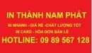 Tp. Hà Nội: in phong bì giá rẻ, in card giá rẻ in hóa đơn bán lẻ giá rẻ CL1189542
