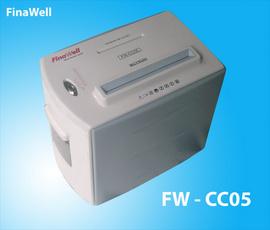 bán máy huỷ giấy finawell fw cc05 giá ưu đãi