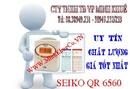 Bình Dương: bán máy chấm công thẻ giấy seico QR 6560 giá rẽ tặng thẻ CL1189799