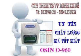 bán Máy chấm công thẻ giấy osin O960P giá cực rẽ tại minh khuê