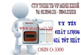 bán Máy chấm công thẻ giấy osin O3300 giá cực rẽ tại minh khuê