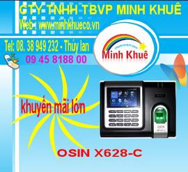 bán Máy chấm công OSIN X628C +ID giá ưu đãi nhất tại minh khuê