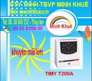 Bà Rịa-Vũng Tàu: máy chấm công timmy T200A tặng thẻ và 1 kệ CL1192526P11