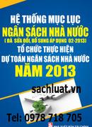 Tp. Hà Nội: Mục lục ngân sách nhà nước năm 2013, mới nhất CL1191288