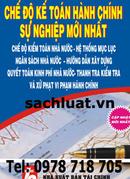 Tp. Hồ Chí Minh: Chế độ kế toán đơn vị hành chính sự nghiệp năm 2013 CL1191288