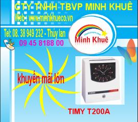 bán máy chấm công timmy T200A giá ưu đãi 38949233