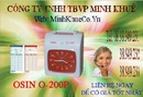 Tp. Hồ Chí Minh: Máy chấm công thẻ giấy osin O200P tặng 200 thẻ + kệ CL1191952