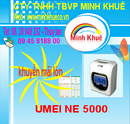 Bình Dương: máy chấm công umei ne 5000 giá rẽ tặng kệ +200 thẻ CL1191952