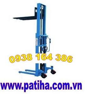 0938164386 nhà phân phối Xe nâng tay 1 tấn ,cao 1. 6 mét Nhật- Thái