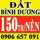 Bình Dương: bán lô đất ngay trung tâm thương mại lô i69 mỹ phước 3 giá rẻ thông qua hồ Hoàng CL1199167P9