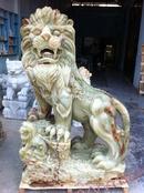 Tp. Đà Nẵng: Tượng đá Non nước- Sư tử ngọc onyx cao 1,45m CL1154923