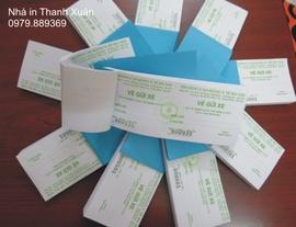 In vé xe giá rẻ, chất lượng đảm bảo, tiến độ nhanh- Cam kết của Nhà In ThanhXuân