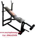 Tp. Hà Nội: Ghế tập tạ đơn XK, ghế tập đẩy tạ, giàn tập đẩy tạ ,dụng cụ thể dục tập tại nhà CL1196020