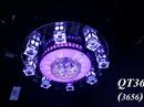 Kiên Giang: đèn chiếu sáng phòng khách, đèn trang trí phòng khách, đèn mâm áp trần led CL1196576