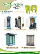 Bình Dương: Nhà vệ sinh di động nhựa Composite CL1202465P11