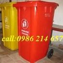Tp. Hồ Chí Minh: thùng rác công nghiệp, thùng rác nhựa HDPE Giá rẻ 0986 214 657 CL1217801