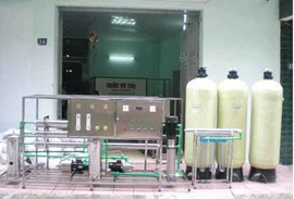 Dây chuyền lọc nước tinh khiết 2000 L/h