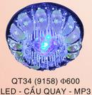 Đăk Lăk: đèn mâm áp trần led đổi màu, đèn chùm pha lê cao cấp, đèn mâm led phòng khách CL1197609
