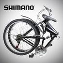 "Tp. Hồ Chí Minh: Xe đạp New 26"" Folding Mountain Bike Foldable Bicycle 6 SP Speed Shimano CL1224402"