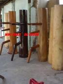 Tp. Hồ Chí Minh: Chuyên Cung Cấp và gia công Mộc nhân dụng cụ tập luyện võ thuật • lượng gỗ ( CL1200812