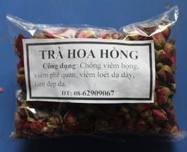 Trà Hoa Hồng-tốt cho hệ tuần hoàn, đẹp da, chống lão, giảm Stress, giá rẻ