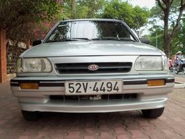 Cần bán KIA CD5 PS đời 2003, màu bạc. Xe đẹp, máy êm, gầm chắc khỏe. Đồng sơn ri
