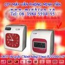 Tp. Hồ Chí Minh: Máy Chấm Công Bằng Thẻ Giấy Chính Hãng Giá Rẻ (in 6 cột) www. minhtan. vn CL1198848P8