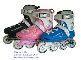 Giày trượt patin khuyến mãi lớn chào mừng 30/ 4 và 1/ 5