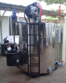Tp. Hồ Chí Minh: Sản xuât Lò hơi dạng đứng đốt nhiên liệu lỏng Công suất : Từ 100kg hơi/ h CL1200276