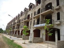 the sun city Tam Phú, nhà phố xây thô, tt 840tr nhận nhà ngay