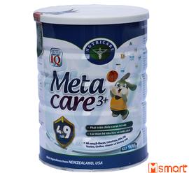 Metacare 3+ sữa dành cho trẻ từ 4 đến 9 tuổi