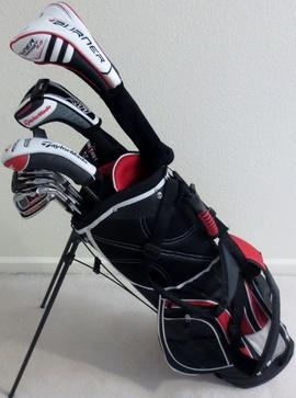 Bộ gậy chơi Golf TaylorMade Mens Complete Golf Club Set Taylor Made RH Stiff Fle