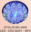 Đăk Lăk: cần mua đèn mâm áp trần phòng khách, đèn mâm led đổi màu cao cấp CL1204263P10