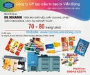 Tp. Hà Nội: Xưởng in card lấy ngay ở Hà Nội -ĐT: 0904242374 CL1205237
