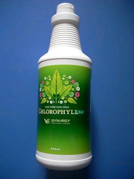 sản phẩm K-Liquid Chlorophill-chất diệp lục, giúp cân bằng cơ thể, thải độc. ..