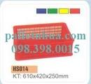 Tp. Hồ Chí Minh: Chuyên Rổ nhựa, sóng nhựa, Thùng nhựa công nghiệp: thùng nhựa đặc, thùng đan lướ CL1206761P4