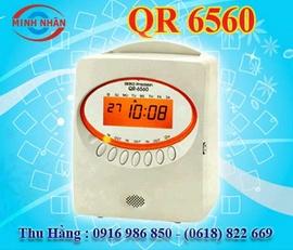máy chấm công thẻ giấy Seiko QR-6560 - giá tốt nhất thị trường