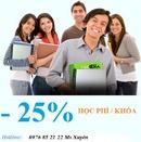 Tp. Hà Nội: Giảm 25% lớp Toeic buổi sáng ngày 13,20 tháng 05 CL1217012P4